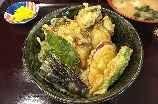 瀬戸のカキ天丼