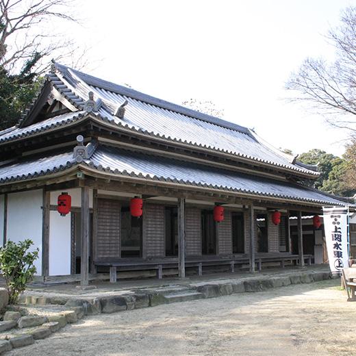 旧上関番所(山口県指定有形文化財)